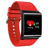 X9Pro Touch Screen Bluetooth Smart Watch Blood Pressure Heart Rate Monitor Smart Bracelet