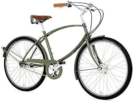Pashley Bike – Rueda – radfahen a tradicional y Pero ultrafinos – gediegen de moderno City de Cruiser – 5 marchas de buje, marco 19, color verde claro arqueadas – individualmente –