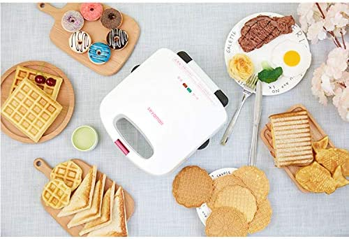 XCXDX Multi Fonction 3 en 1 Sandwich Gaufrier Beignet Panini Maker Collation Dessert Machine