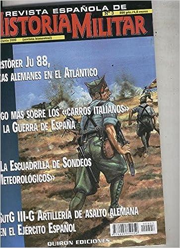 Revista española de Historia Militar numero 03: Amazon.es: Varios ...