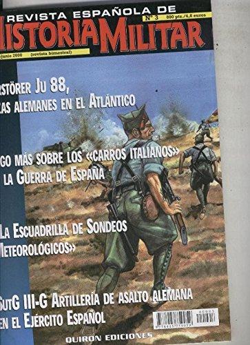 Revista española de Historia Militar numero 03: Amazon.es: Varios: Libros