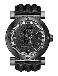 Harley-Davidson Men's Bulova Black #1 Racing Skull Wrist Watch 78B131 by Harley-Davidson