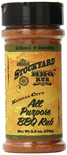 American Stockyard Kansas City All Purpose BBQ Rub, 5.5 Ounce