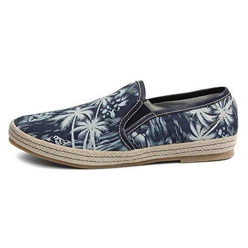 Gbx Mens Dlux 13744 Slip-on Loafer Denim