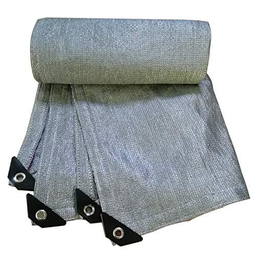 - YANZHEN Sunshade Nets Size Customization Sunscreen Balcony Roof Shade Cloth Wear-Resistant, 32 Size (Color : Silver, Size : 2x2m)