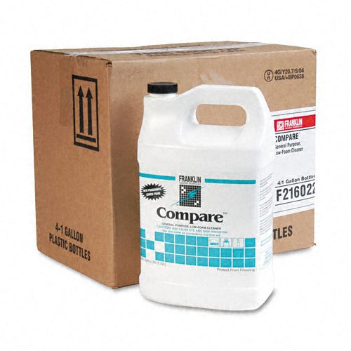 Franklin Cleaning Technology : Compare Floor Cleaner, 1gal Bottle, 4/carton -:- Sold as 2 Packs of - 4 - / - Total of 8 Each