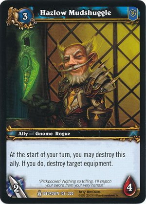World of Warcraft TCG - Hazlow Mudshuggle (ICE - 103) - Icecrown