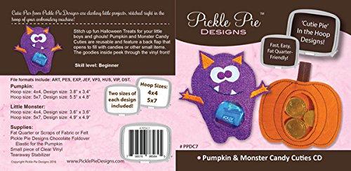 Pumpkin & Monster Candy Cuties CD