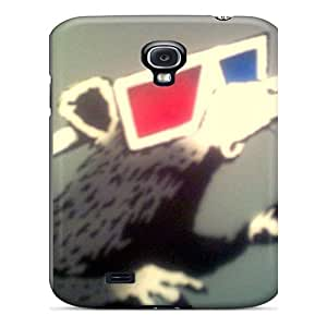 Busttermobile168 Scratch-free Phone Cases For Galaxy S4- Retail Packaging - Banksy 3d Rat Black Friday