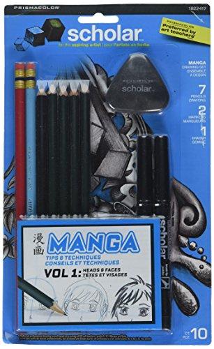 sanford Prismacolor Beginner Manga Set (1822417)