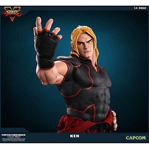 - Street Fighter 5 Ken Masters 1:4 Scale Statue