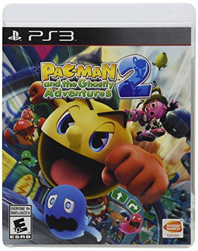 PAC-MAN and the Ghostly Adventures 2 - PlayStation 3 (Ps3 Video Pacman Game)
