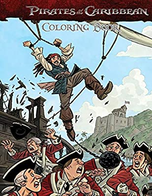 Pirates Of The Caribbean Coloring Book Coloring Book For Kids And Adults With Fun Easy And Relaxing Coloring Pages Johnson Linda Amazon Ae