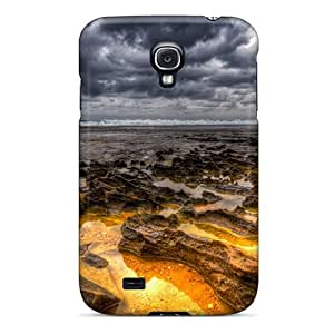 Excellent Design Yellow Sea Hdr Phone Case For Galaxy S4 Premium Tpu Case
