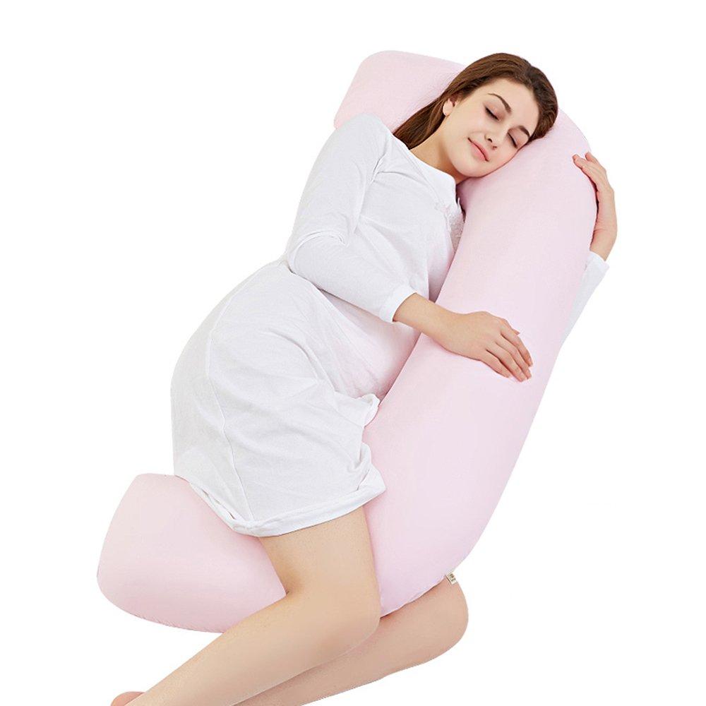 Pregnant women pillow / nursing waist pillow pillow pillow pillow multi-function U-pillow / pillow sleep side pillow ( Color : Jade ) by Pregnant women pillow