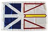 Newfoundland and Labrador – 2′ x 3′ Canadian Province Nylon Flag For Sale