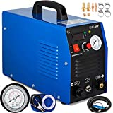 Mophorn 50Amp Plasma Cutter Dual Voltage 110V 220V Portable Plasma Welder Plasma Cutting Machine Cut50F Inverter Digital Plasma Welding Machine(50 Amp 110V 220V) Larger Image
