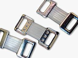 BandACE Bandage Wrap Elastic Stretch Metal Clips - 25 Clips