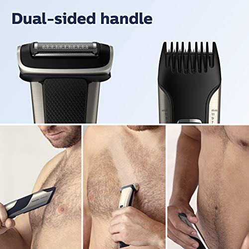 Philips Norelco BG7030/49 Bodygroom Series 7000, Showerproof Dual-sided Body Trimmer and Shaver for Men 3