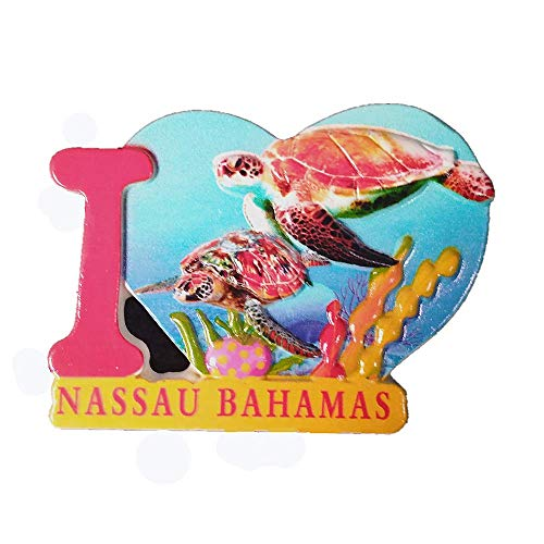 - 3D Nassau Bahamas Fridge Magnet Souvenir Gift,Home & Kitchen Decoration Magnetic Sticker,Nassau Bahamas Refrigerator Magnet Collection