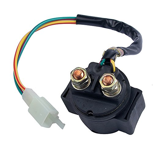 Savior Starter Relay Solenoid 50cc 125cc 150cc GY6 Engine Chinese Scooter ATV Go Kart Clones Starter