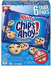 Chips Ahoy! Snak Paks Mini Cookies, Back to School Snacks, 180g