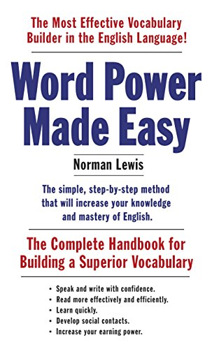 Word Power Made Easy: The Complete Handbook for Building a Superior Vocabulary (Best Sound Card 2019)