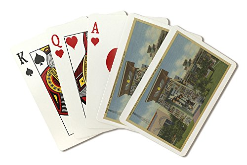 San Jose, CA - Replica of Egyptian Shrine, Rosicrucian Park (Playing Card Deck - 52 Card Poker Size with Jokers) - Egyptian Shrine