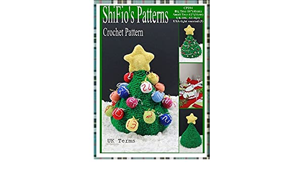 Patterns Needlecrafts Yarn Christmas Sprout Bauble Table