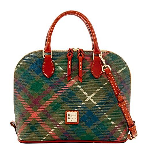 dooney-bourke-durham-zip-zip-satchel-shoulder-bag-purse-handbag-olive