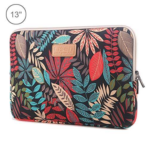 Tablet Carrying Bag, laptop Bag Lisen 13 inch Sleeve Case Ethnic Style Multi-color Zipper Briefcase Carrying Bag, For Macbook, Samsung, Lenovo, Sony, DELL Alienware, CHUWI, ASUS, HP, 13 inch and Below