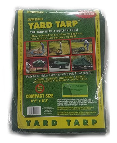 Yard Tarp With Drawstring Poly Rope In Hem Best Multi