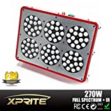Xprite Apollo-6 Full Spectrum 270W (903W) LED Grow Light for Indoor Plant Growing Plants And Garden Greenhouse With IR
