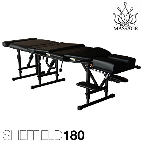 - Sheffield 180 Elite Professional Portable Chiropractic Table - Charcoal