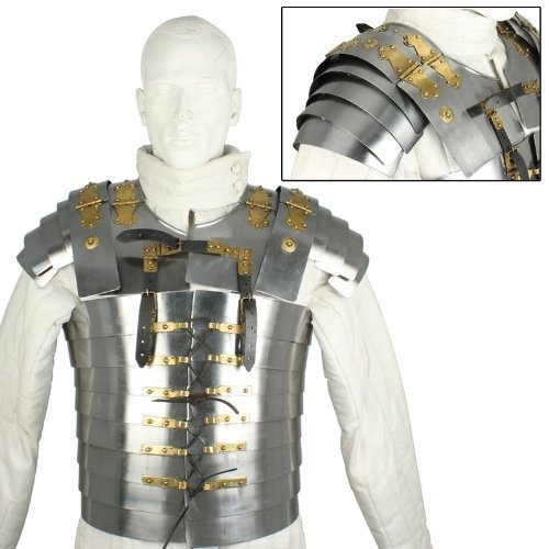 - Roman Soldier Military Lorica Segmentata Body Armor 20g Steel By Nauticalmart