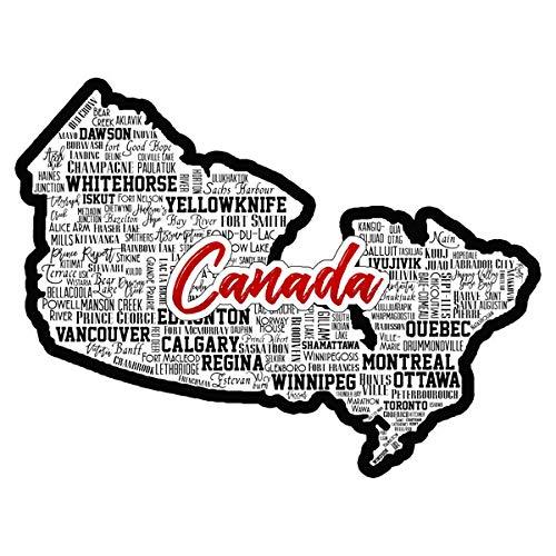 Scrapbook Customs 52204 Canada City Sights Laser Cut Dimensional Scrapbook Embellishment (Best Sights In Canada)