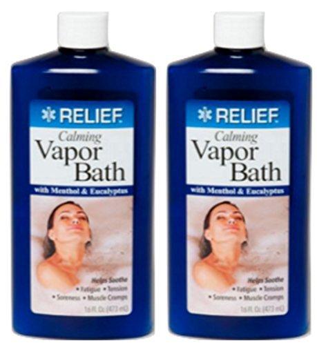 5 Relief Calming Vapor Bath With Menthol Eucalyptus Soothe F