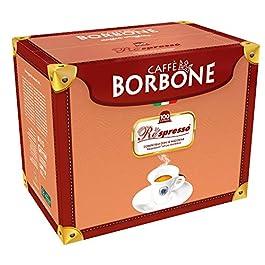 Caffè Borbone, Cápsulas de café (Respresso Mezcla Rosa) – 100 Cápsulas