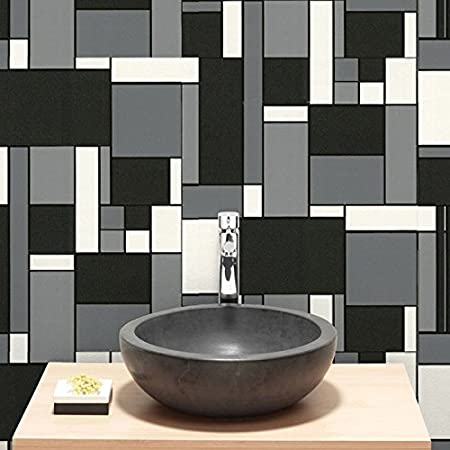 Graham Brown Geo Bathroom Wallpaper 17166