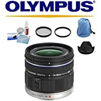 Olympus M ED 9-18mm Lens + Deluxe Accessory Bundle