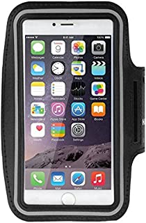 DFV mobile - Bracciale Custodia Professionali Riflettente Neoprene Impermeabile Fascia da Braccio Sport per = ALLVIEW X4 Soul Infinity Z  Nero DF-FbHAWE-PLS-N-C1-16