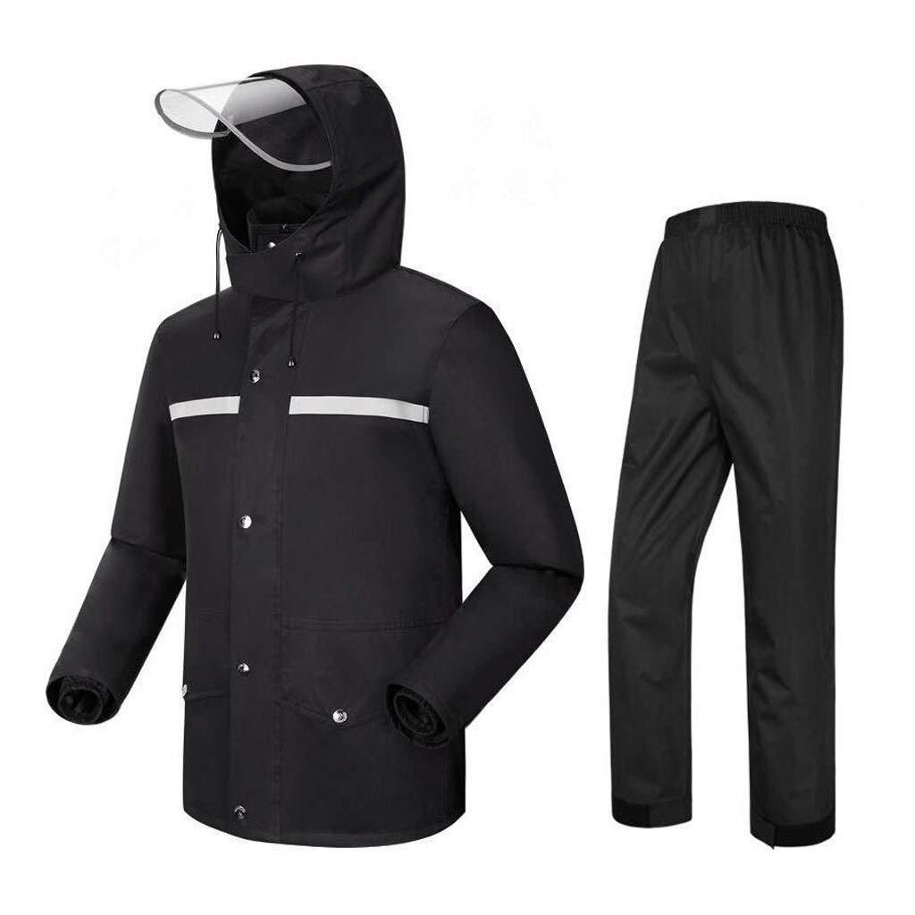 B Xl Imperméable for Hommes (imperméable + Pantalon de Pluie), Poids Lourd imperméable novateur, C'est Un Must for Les travaux en extérieur (Couleur   D, Taille   XL)