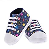 Infant First Walker Toddler Newborn Baby Soft Sole Crib Shoes Sneaker LX 7-12 Months