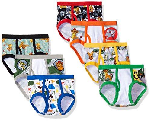 (Disney Lion Guard Toddler Boy 7 Pack, Assorted Prints, 4T)