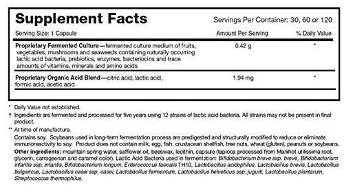 Dr Ohhira's Probiotics Professional formula 60 caps 3 pack by Essential Formulas (Image #3)
