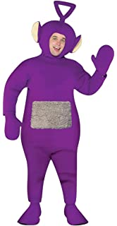 Amazon.com  Teletubbie Adult 4 Pack Costume - One Size - Chest Size ... b8c6bd3dc4801