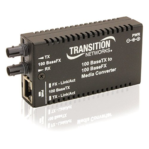 Transition Networks Mini Fast Ethernet Media Converter by Transition Networks