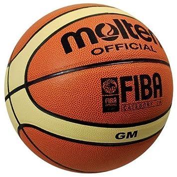 Molten BGM - Balón de baloncesto oficial de la FIBA (diseño de 12 ...