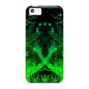 Mycase88 Snap On Hard Cases Covers Psychogreen Protector For Iphone 5c
