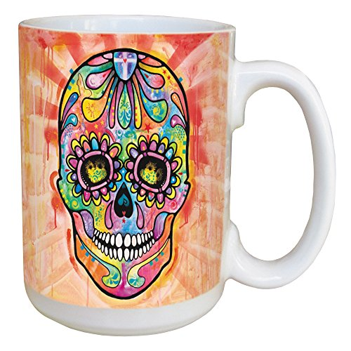 Spectral Sugar Skull Coffee Mug -
